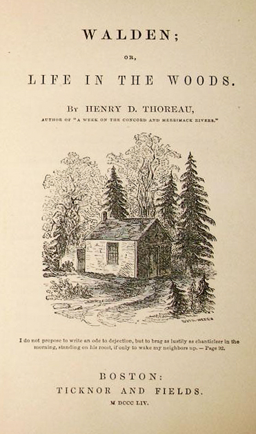 thoreau walden romanticism In walden, thoreau not only chronicles his and was heavily influenced by the european romantic movement and eastern henry david thoreau & transcendentalism.